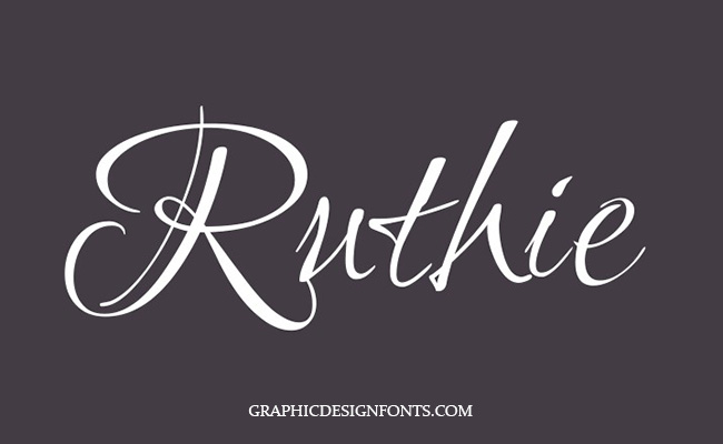 Ruthie Font Family Free Download