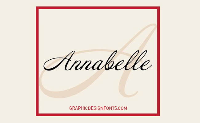 Annabelle Font Family Free Download