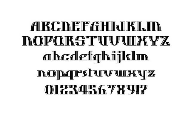 Dos Equis Font Family Download
