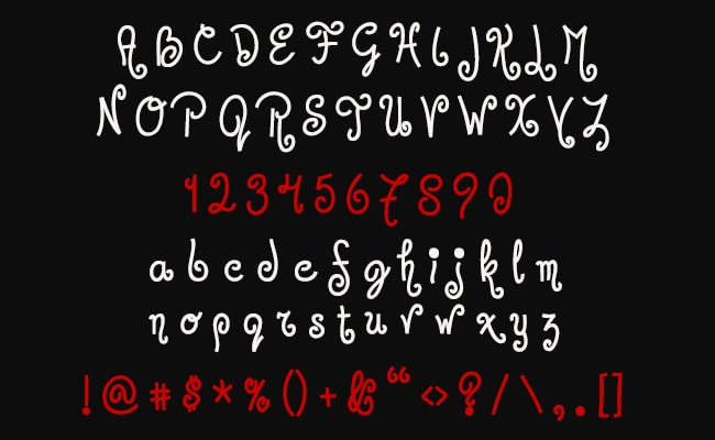 Jandles Semi Cursive Font Free Download