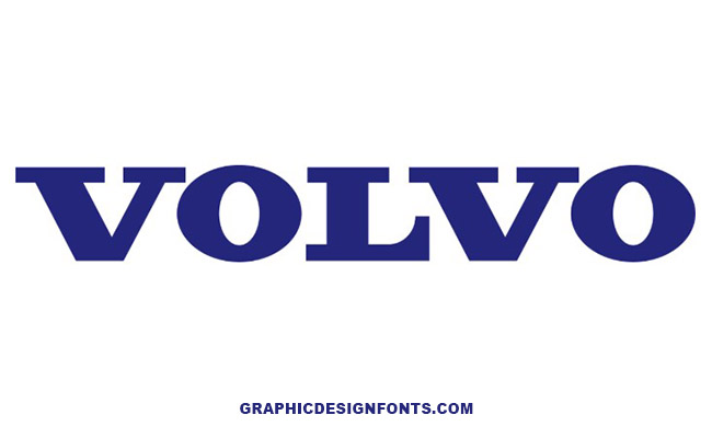 Volvo Font Family Free Download