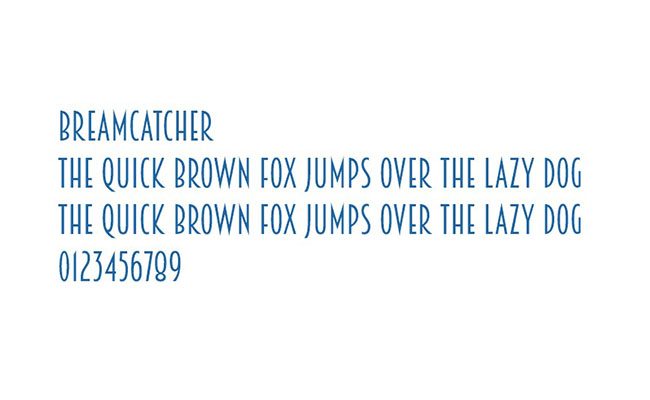 Bream Catcher Font Family Download