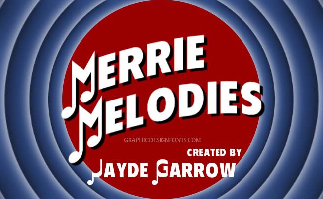 Merrie Melodies Font Family Free Download