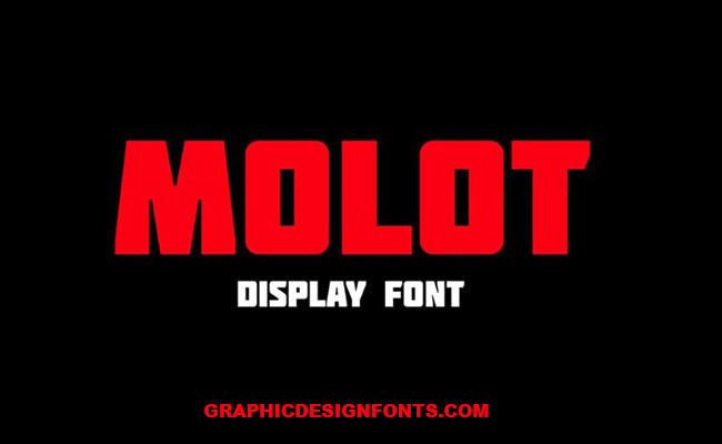 Molot Font Family Free Download
