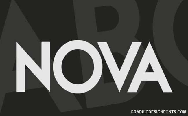 Nova Font Family Free Download