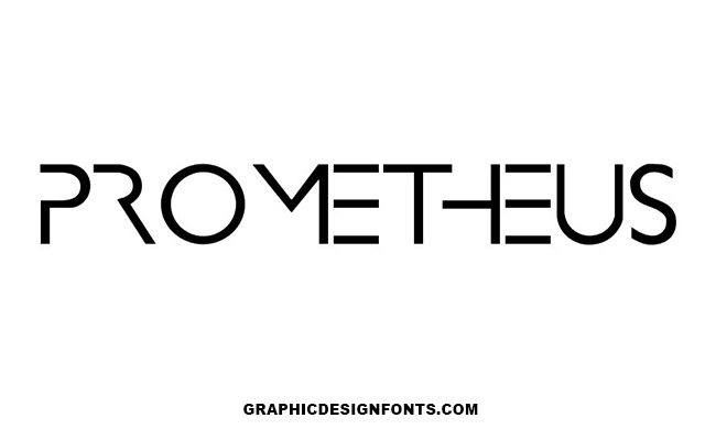 Prometheus Font Family Free Download