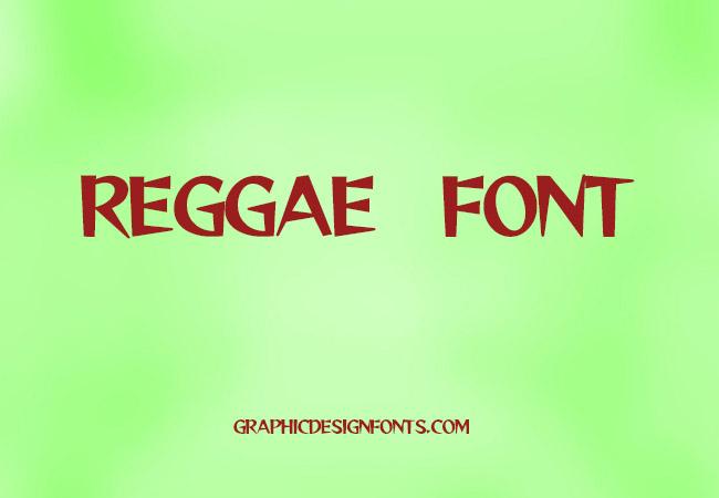 Reggae Font Family Free Download