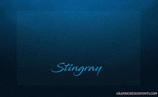Stingray Font Family Free Download