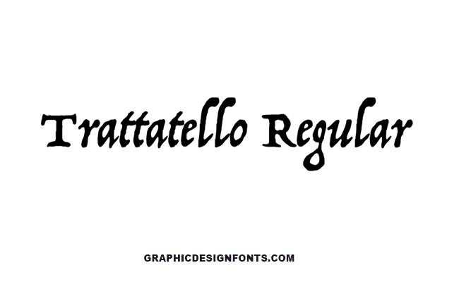 Trattatello Font Family Free Download