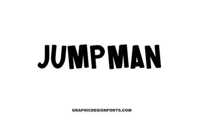 Jumpman Font Family Free Download