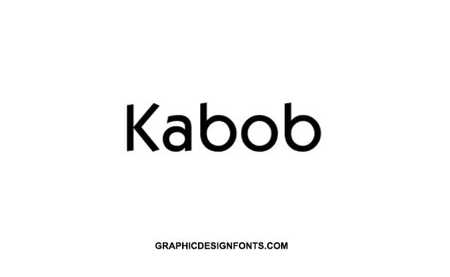 Kabob Font Family Free Download