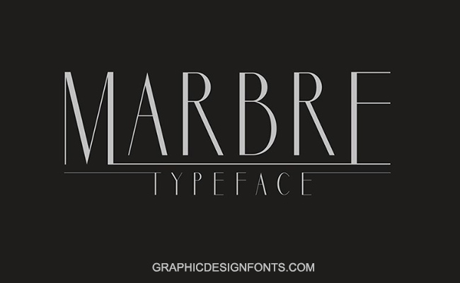 Marbre Font Family Free Download