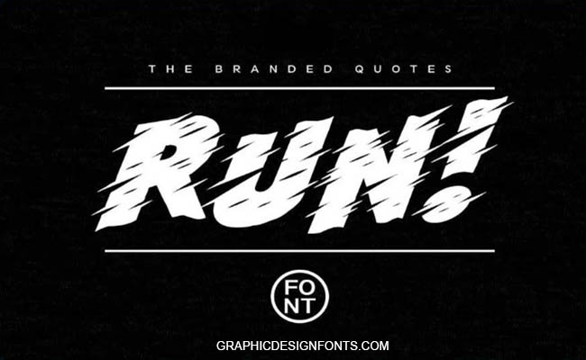 Run Font Family Free Download