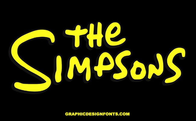 The Simpsons Font Family Free Download