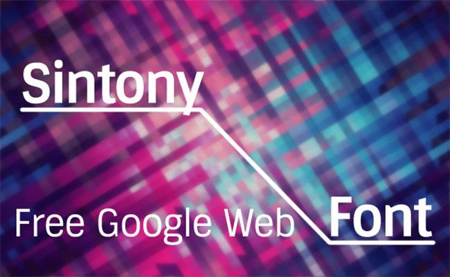 sintony fonts family download