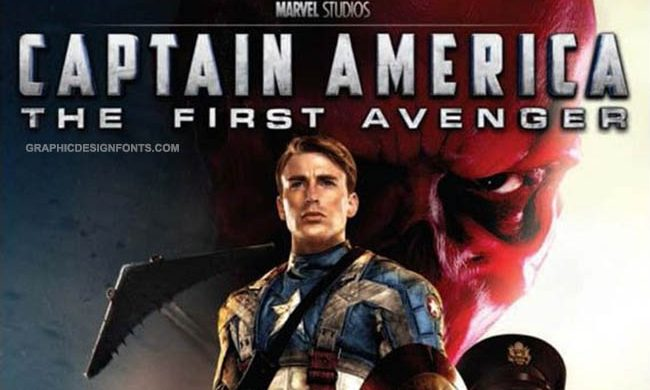 Captain America Font Family Free Download