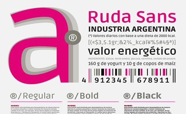 Ruda Font Free Download Graphic Design Fonts