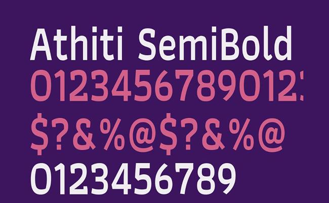 Athiti Font Free Download