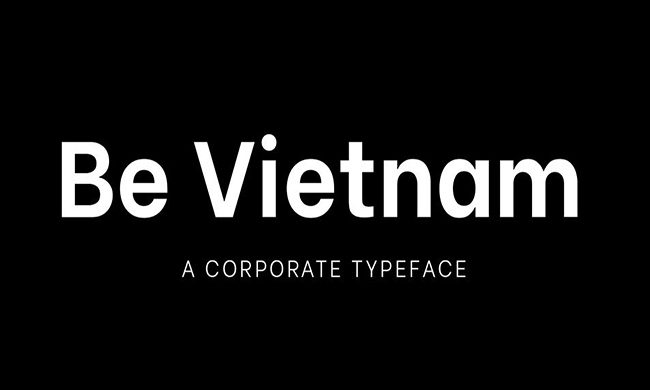 Be Vietnam Font Family Free Download