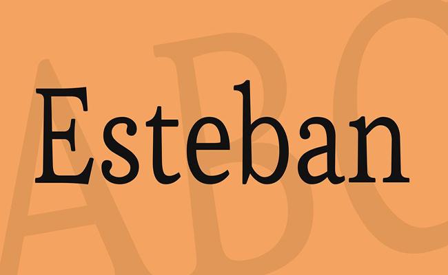 Esteban Font Family Free Download