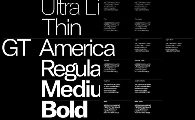 GT America Font Free Download