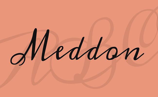 Meddon Font Family Free Download
