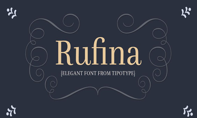 Rufina Font Family Free Download