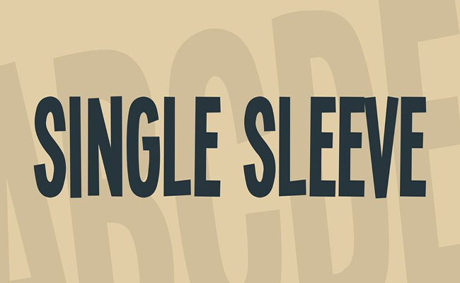 Single Sleeve Font Family Free Download
