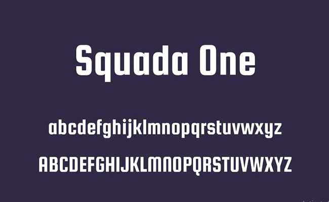 Squada One Font Free Download