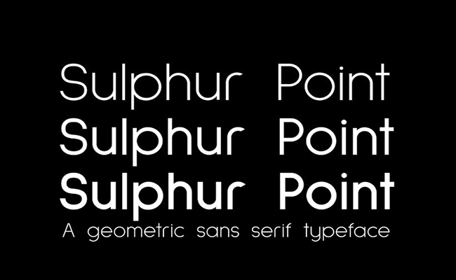 Sulphur-Point-Font- Family-Download