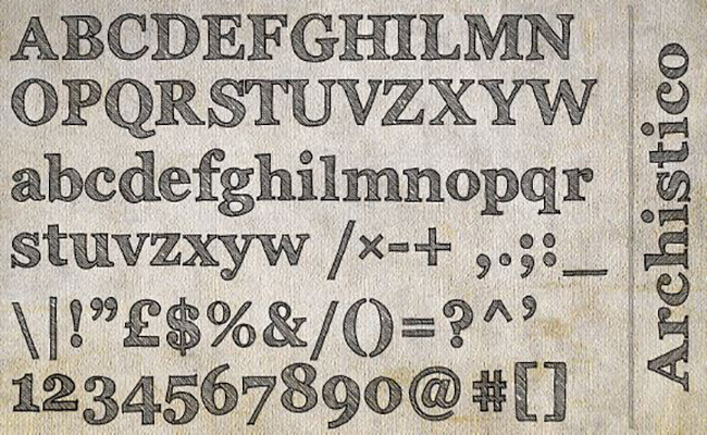 Archistico Font Free Download