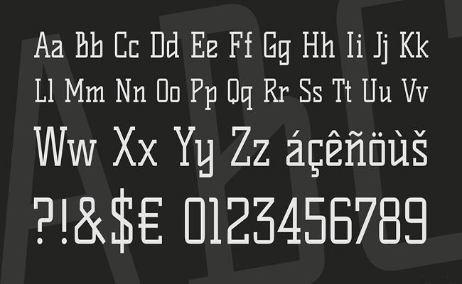 Kelly Slab Font Family Download