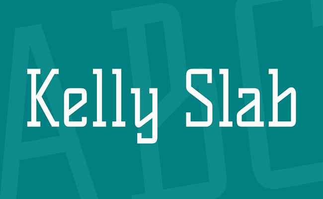 Kelly Slab Font Family Free Download