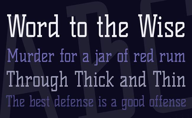 Kelly Slab Font Free Download