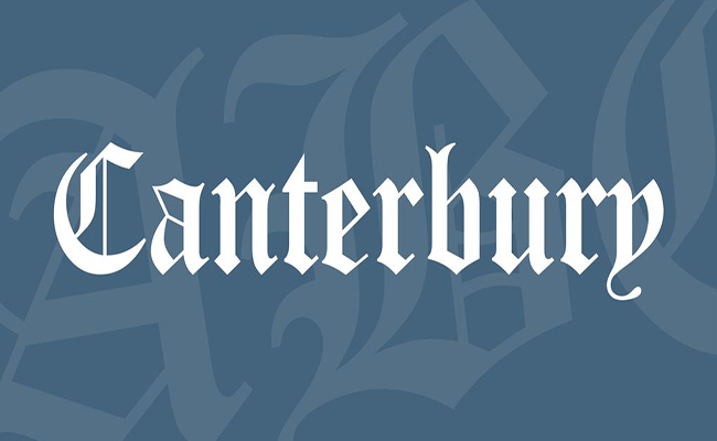 Canterbury Font Family Free Download