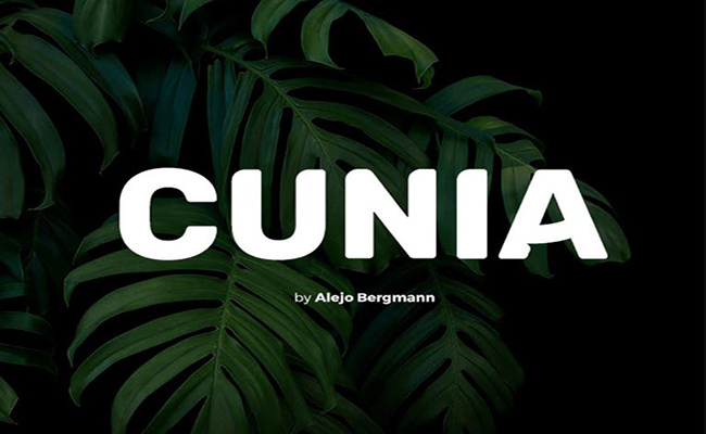 Cunia Font Family Free Download