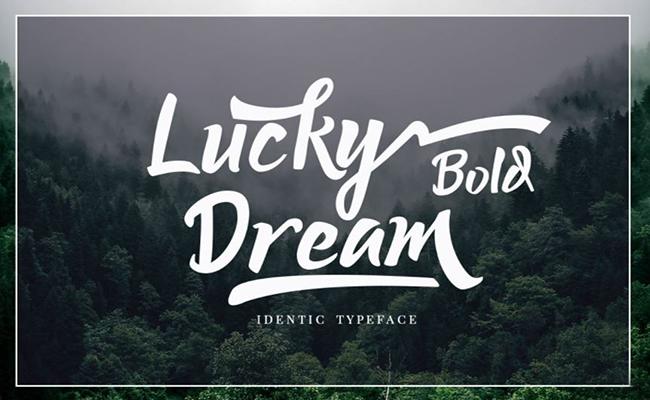 Lucky Dream Font Family Free Download