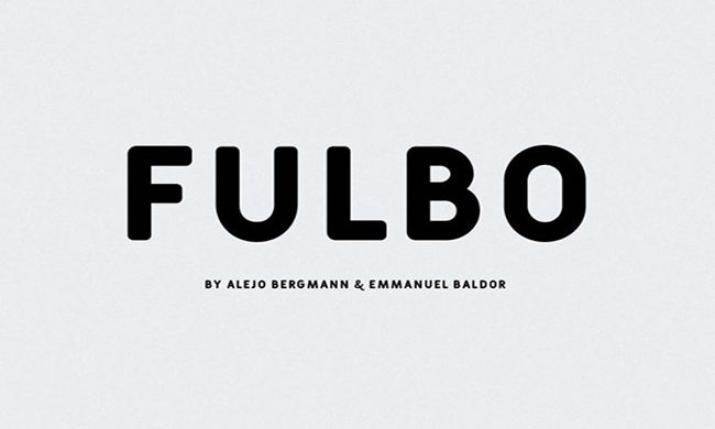 Fulbo Font Family Free Download