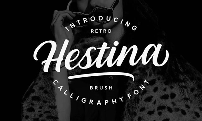 Hestina Font Family Free Download