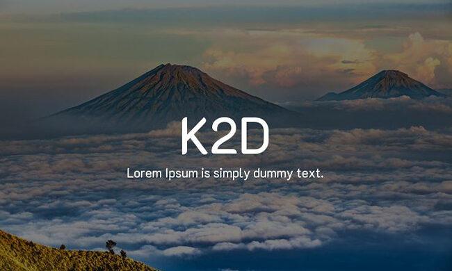 K2D Font Family Free Download