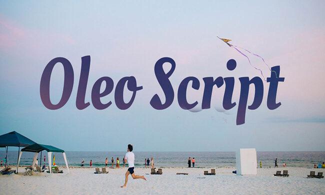 Oleo Script Font Family Free Download