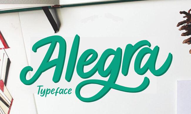 Alegra Font Family Free Download