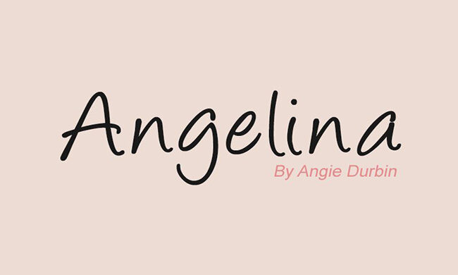 Angelina Font Family Free Download