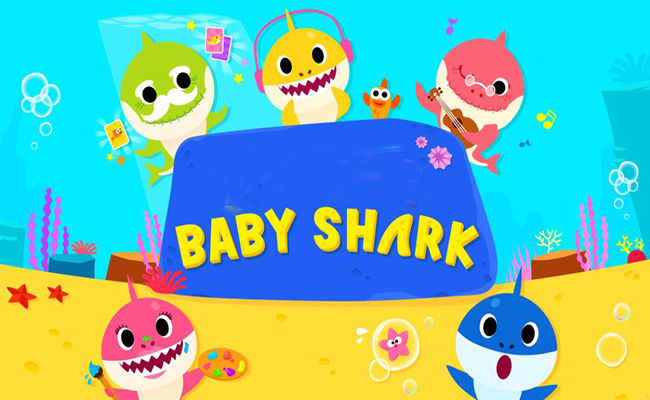 Baby Shark Font Family Free Download