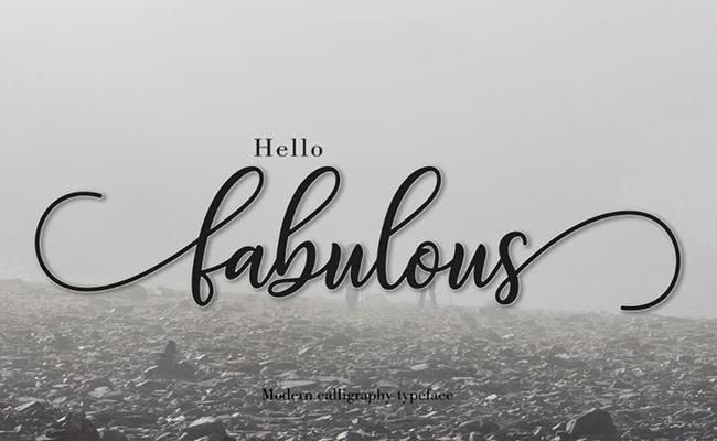 Fabulous-Script-Font-Family-Download