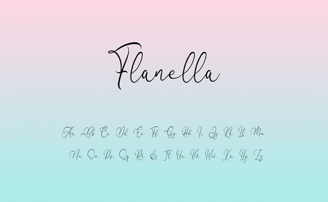 Flanella-Font-Family-Download