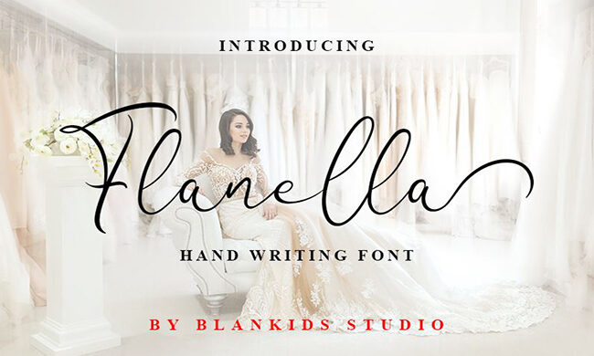 Flanella Font Family Free Download