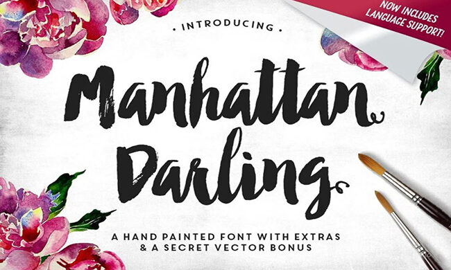 Manhattan Darling Font Family Free Download