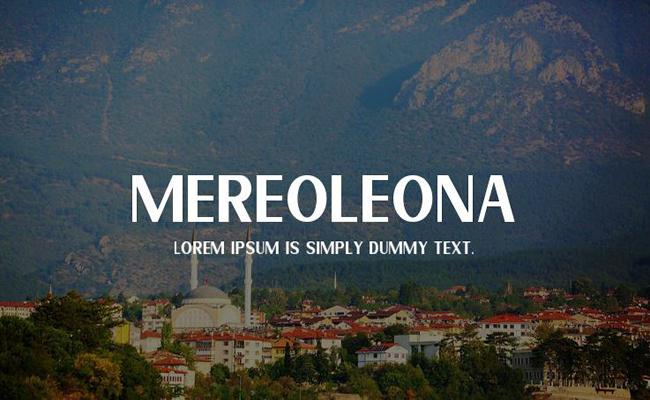 Mereoleona Font Free Download