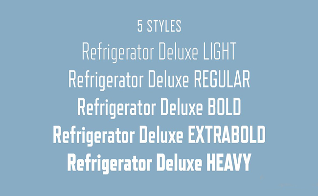 Refrigerator-Deluxe-Font-Family-Download